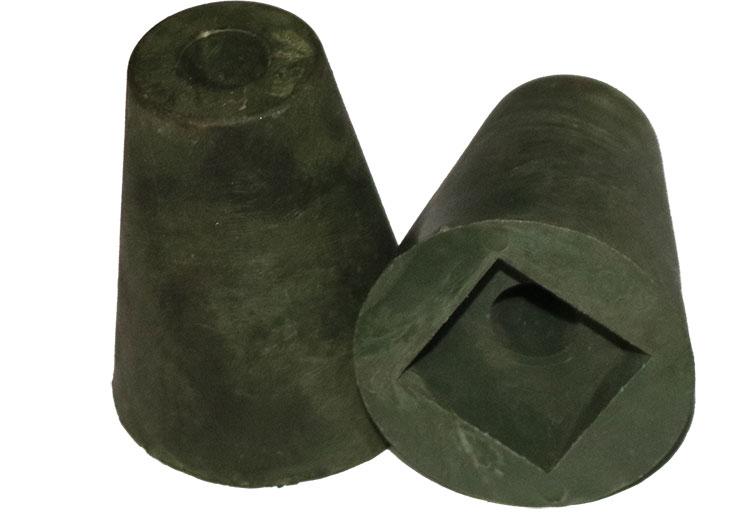 止水螺杆实心胶垫